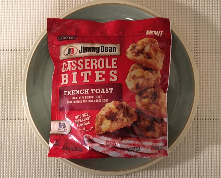 Jimmy Dean French Toast Casserole Bites