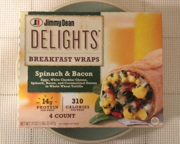 Jimmy Dean Delights Spinach & Bacon Breakfast Wraps