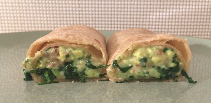 Jimmy Dean Delights Spinach & Bacon Breakfast Wraps