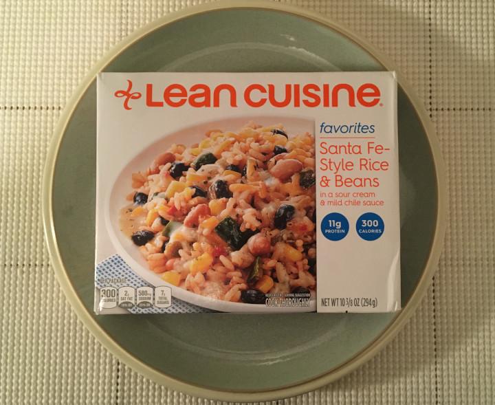 Lean Cuisine Favorites Santa Fe Rice & Beans in a Sour Cream & Mild Chile Sauce