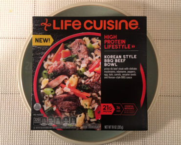 Life Cuisine High Protein Lifestyle Korean Style BBQ Beef Bowl