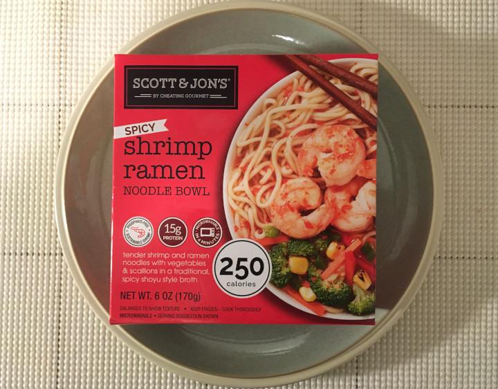 Scott & Jon's Spicy Shrimp Ramen Noodle Bowl