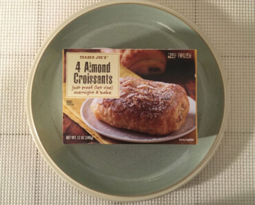 Trader Joe's 4 Almond Croissants