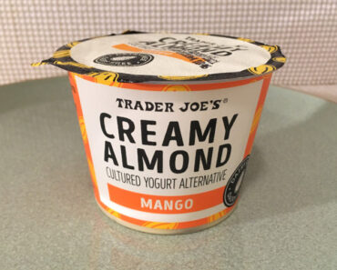 Trader Joe's Mango Creamy Almond Cultured Yogurt Alternative