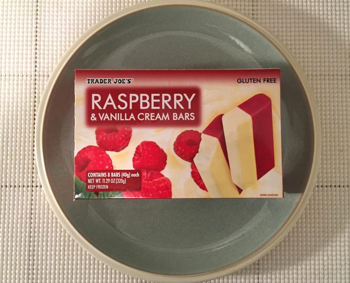 Trader Joe's Raspberry & Vanilla Cream Bars