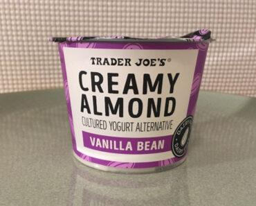 Trader Joe's Vanilla Bean Creamy Almond Cultured Yogurt Alternative