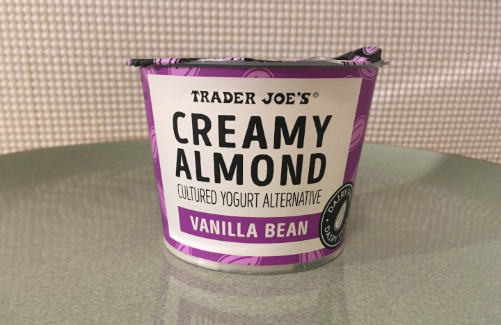 Trader Joe's Vanilla Bean Creamy Almond Cultured Yogurt Alternative