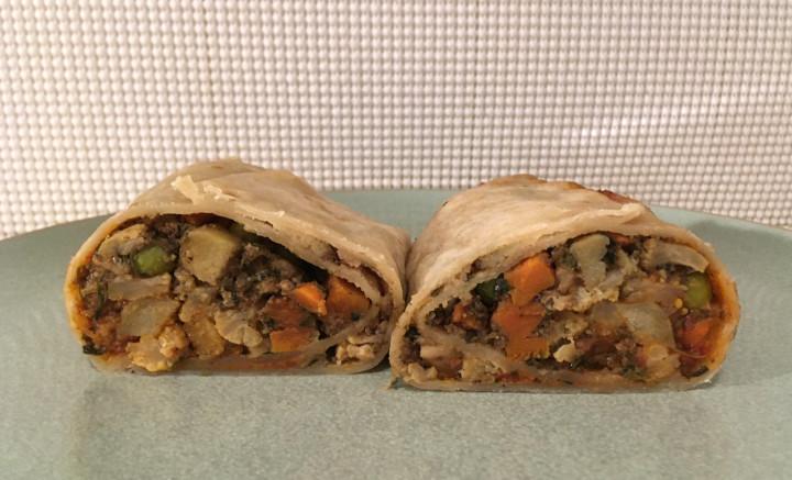 Trader Joe's Vegetable Samosa Burrito