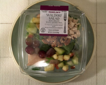Trader Joe's Waldorf Salad with Grilled White Chicken Meat