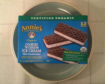 Annie's Cookies 'n Cream Ice Cream Mini Sandwiches