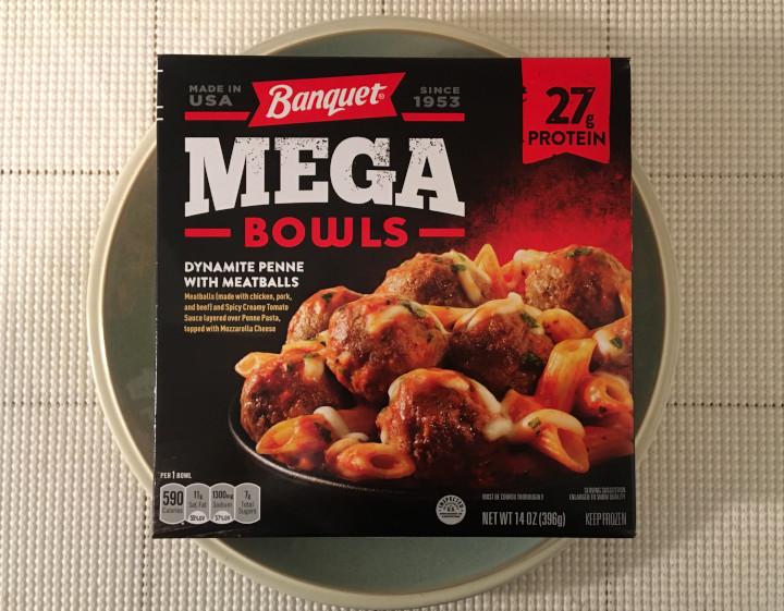 Banquet Dynamite Penne with Meatballs Mega Bowl