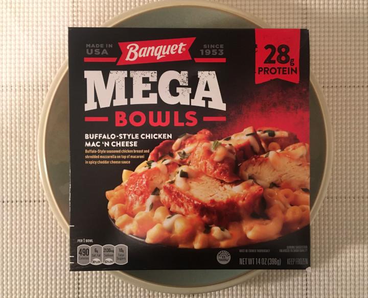 Banquet Mega Bowls Buffalo-Style Chicken Mac 'n Cheese