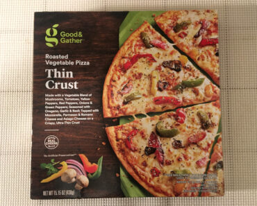 Good & Gather Thin Crust Roasted Vegetable Pizza