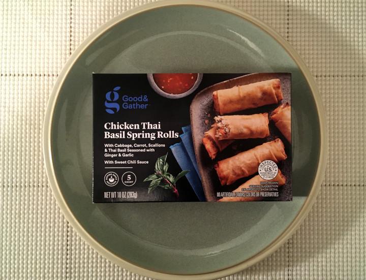 Good & Gather Chicken Thai Basil Spring Rolls