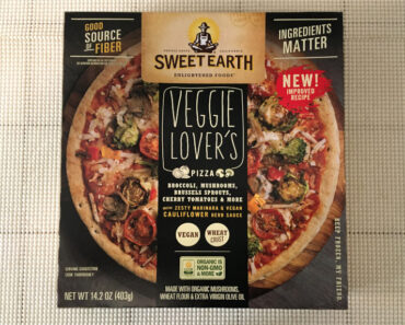 Sweet Earth Veggie Lover's Pizza (New Improved Recipe)