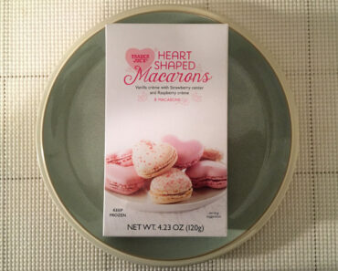 Trader Joe's Heart Shaped Macarons