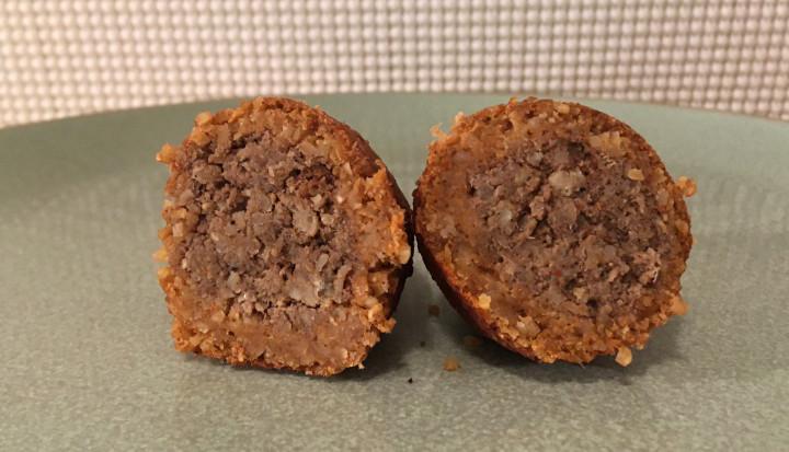 Trader Joe's Kibbeh (Middle Eastern Inspired Stuffed Meatball)