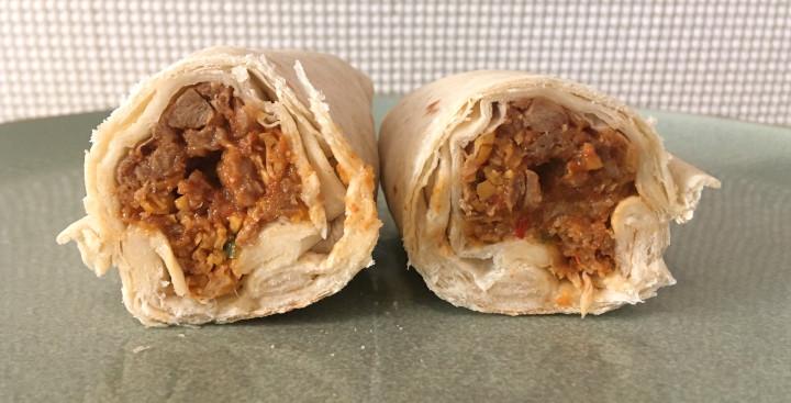 Alpha Burrito Plant-Based Mexicali