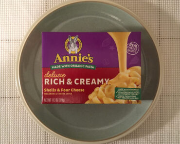 Annie's Deluxe Rich & Creamy Shells & Four Cheese Macaroni & Cheese