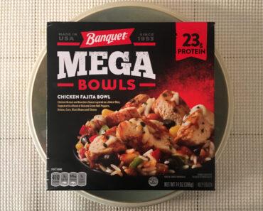Banquet Mega Bowls Chicken Fajita Bowl