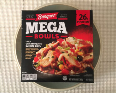 Banquet Mega Bowls: Spicy Chicken Queso Burrito Bowl