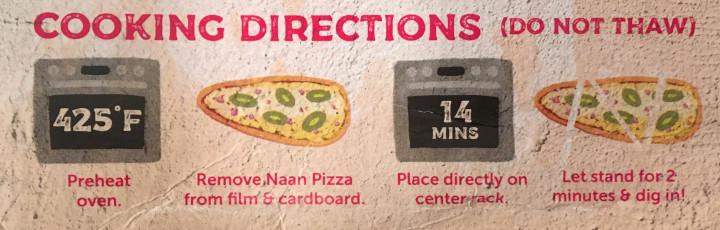 Deep Indian Kitchen Jalapeño Naan Pizza