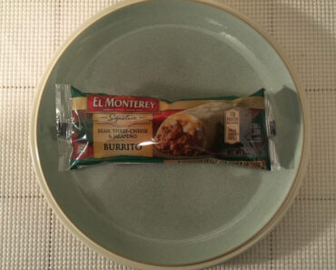 El Monterey Bean, Three-Cheese & Jalapeno Burrito