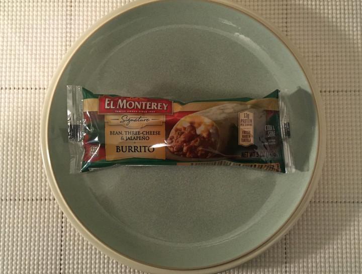 El Monterey Bean, Three-Cheese & Jalapeno Burrito