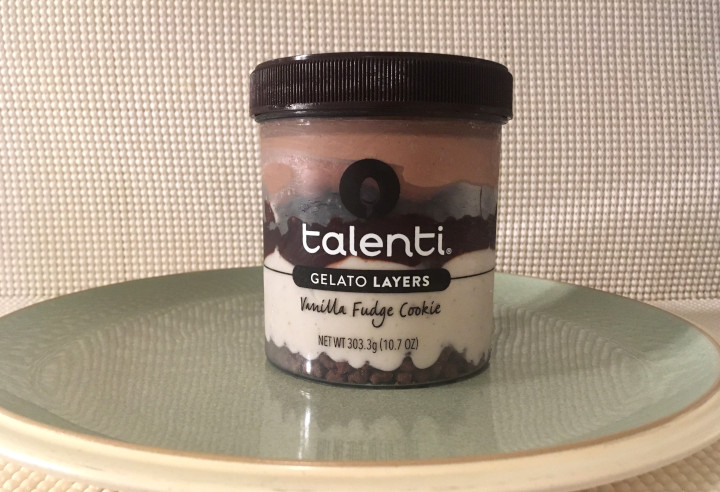 Talenti Vanilla Fudge Cookie Gelato Layers