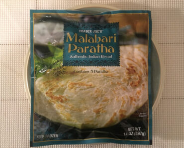 Trader Joe's Malabari Paratha Authentic Indian Bread