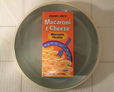 Trader Joe's Wisconsin Cheddar Macaroni & Cheese