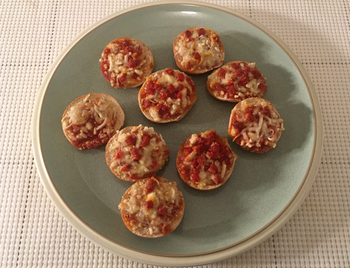 Annie's Uncured Pepperoni Mini Pizza Bagels