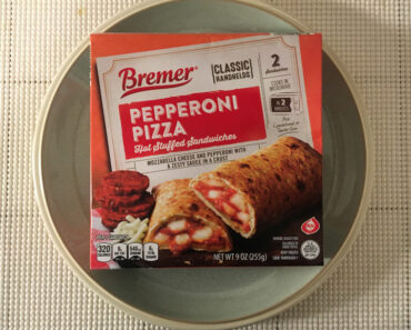 Bremer Pepperoni Pizza Hot Stuffed Sandwiches