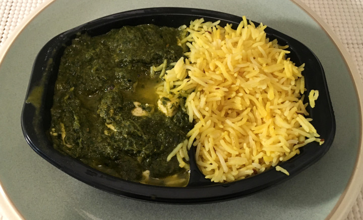 Deep Indian Kitchen Spinach Paneer