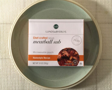 Lunds & Byerlys Meatball Sub Chef-Crafted Soup Review