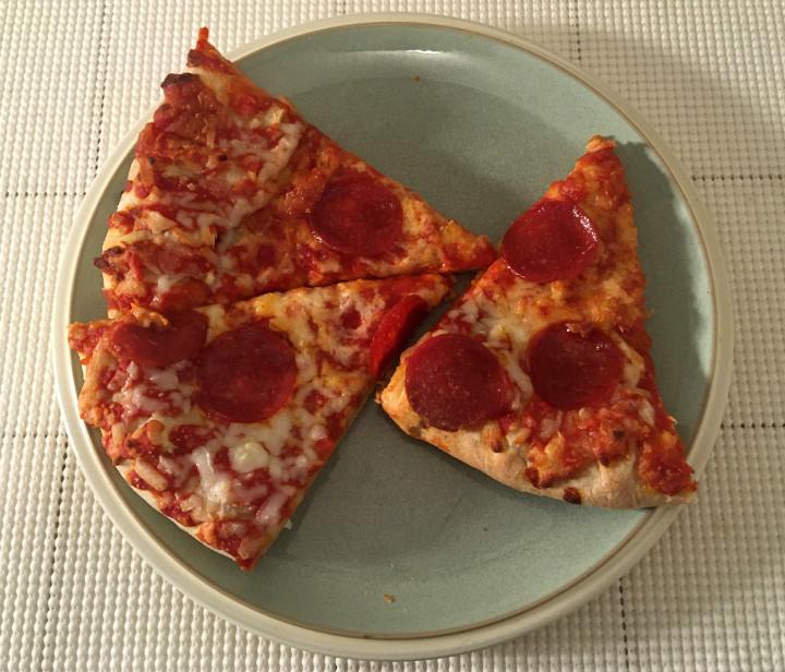 Aldi Mama Cozzi's Cheese Stuffed Crust Pepperoni Pizza
