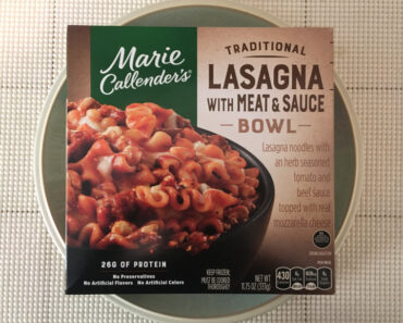 Marie Callender's Traditional Lasagna with Meat & Sauce Bowl