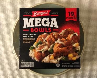 Banquet Mega Bowls Chicken Fried Beef Steak