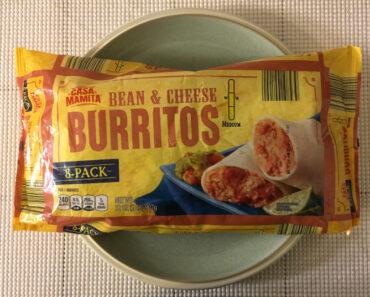 Casa Mamita Bean & Cheese Burritos