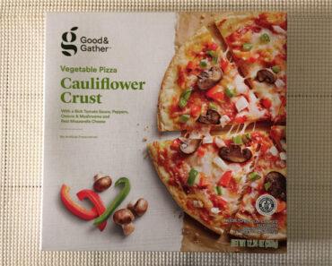 Good & Gather Cauliflower Crust Vegetable Pizza
