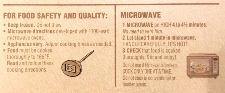 Healthy Choice Basil Chicken Pesto Power Bowl