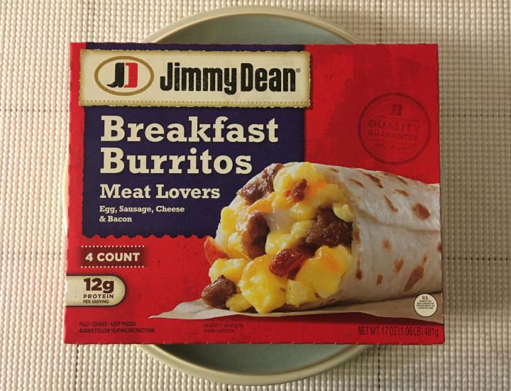 Jimmy Dean Meat Lovers Breakfast Burritos