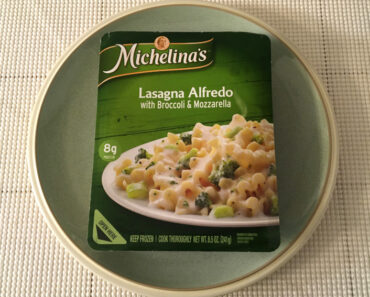 Michelina's Lasagna Alfredo with Broccoli & Mozzarella