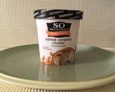So Delicious Dairy Free Salted Caramel Cluster Cashewmilk Dessert