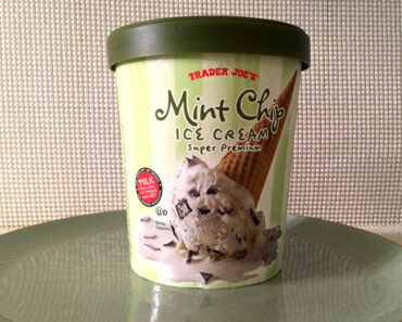 Trader Joe's Mint Chip Ice Cream Review