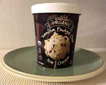 Trader Joe's Organic Vanilla Fudge Chip Ice Cream Review