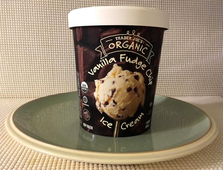 Trader Joe's Vanilla Fudge Chip Ice Cream
