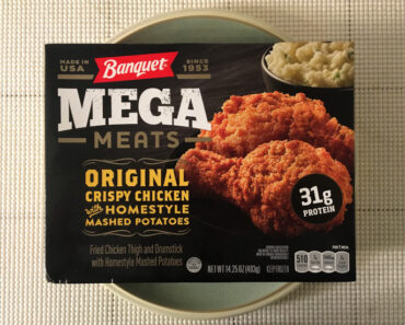 Banquet Mega Meats Original Crispy Chicken with Homestyle Mashed Potatoes