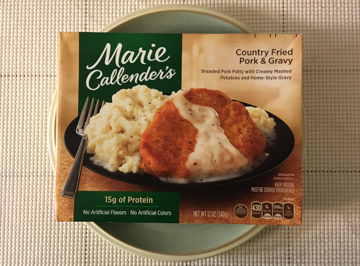 Marie Callender's Country Fried Pork & Gravy