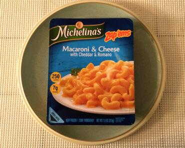 Michelina's Zap'ems Macaroni & Cheese with Cheddar & Romano